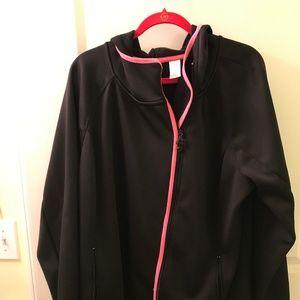 Activewear fleece lined jacket - size 22/24